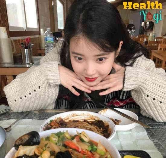 Kpop Idol's Diet