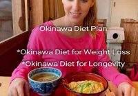 Okinawa Diet Plan: Okinawa Diet Plan for Weight Loss and Longevity