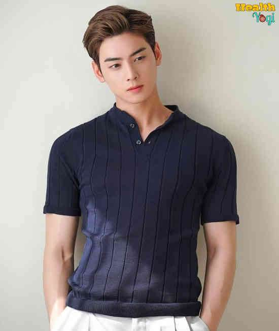 Cha Eun-woo Workout Routine and Diet Plan