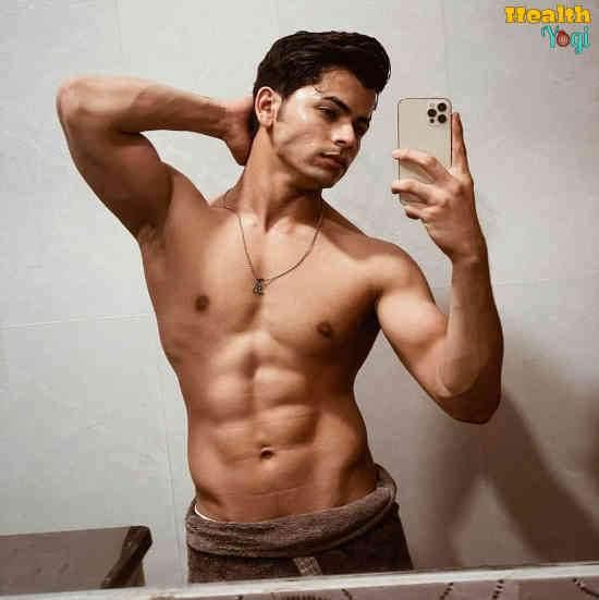Siddharth Nigam Workout Routine