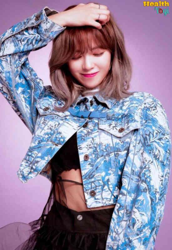 Twice Jeongyeon Diet Plan