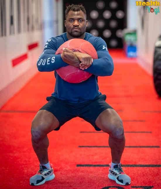 Francis Ngannou Workout Routine
