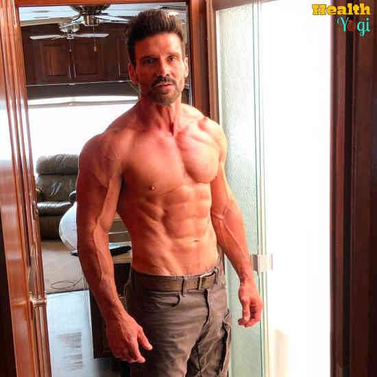 Frank Grillo Workout Routine and Diet Plan
