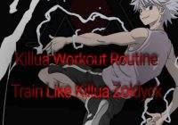 Killua Zoldyck Workout Routine: Train Like Killua From Hunter X Hunter