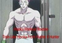 Hisoka Morow Workout Routine: Train Like Hisoka From Hunter X Hunter