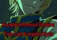 Kurapika Kurta Workout Routine: Train Like Kurapika From Hunter X Hunter