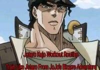 Jotaro Workout Routine: Train Like Jotaro Kujo From JoJo's Bizarre Adventures