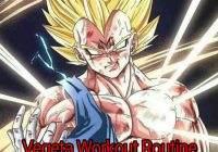 Vegeta Workout Routine: Train Like a Super Saiyan