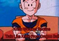 Krillin Workout Routine: Train Like Krillin From Dragon Ball
