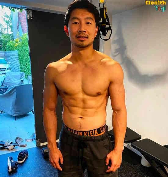 Simu Liu Workout Routine and Diet Plan