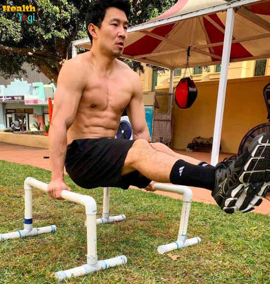 Simu Liu Workout Routine