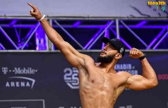 Dominick Reyes Diet Plan