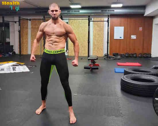 Jiří Procházka Workout Routine