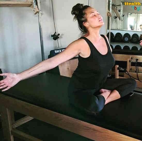 Chrissy Teigen Workout Routine