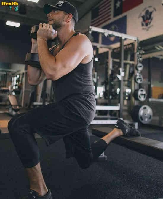 Zachary Levi Workout Routine