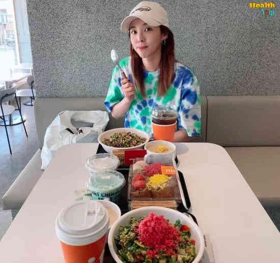 [2ne1] Sandara Park Diet Plan