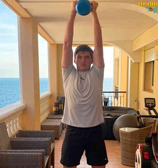 Max Verstappen Workout Routine and Diet Plan