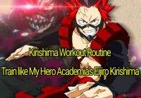 Kirishima Workout Routine: Train like My Hero Academia's Eijiro Kirishima