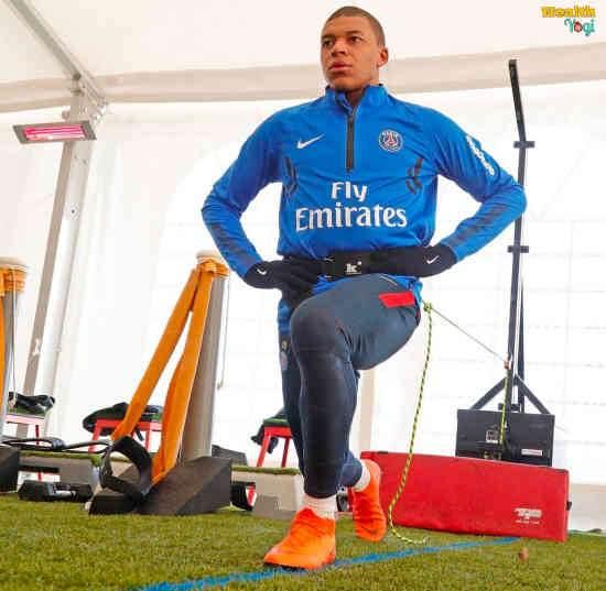 Kylian Mbappé Workout Routine