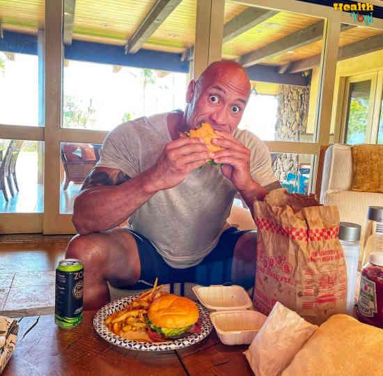 Dwayne Johnson Diet Plan