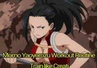 Momo Yaoyorozu Workout Routine: Train like Creati