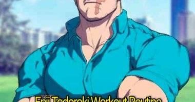 """Enji Todoroki Workout Routine: Train like """"Endeavor"""" from My Hero Academia"""