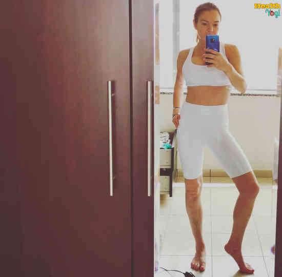 Lindsay Lohan Workout Routine