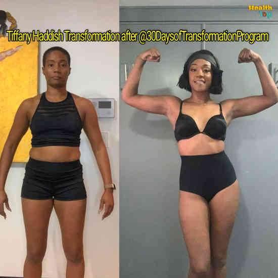 Tiffany Haddish Workout Routine
