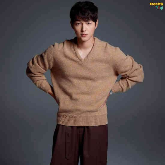 Song Joong-Ki Workout Routine and Diet Plan