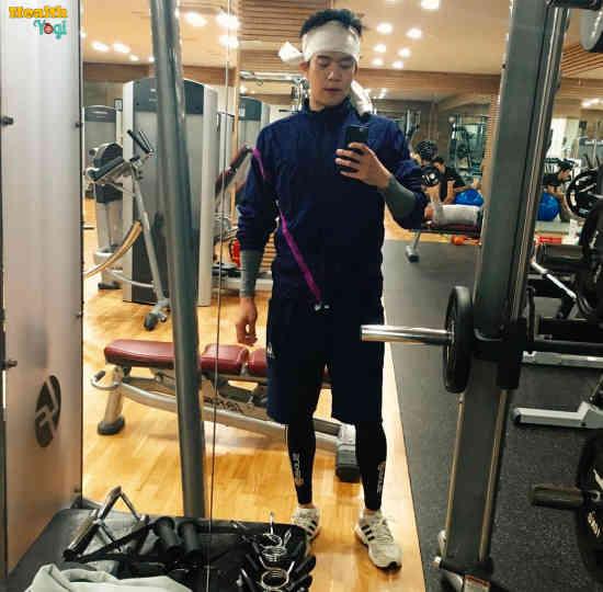 Ha Seok-Jin Workout Routine