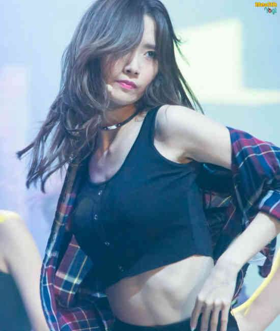 Im Yoona Workout Routine