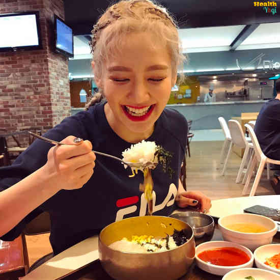 Hyoyeon Diet Plan